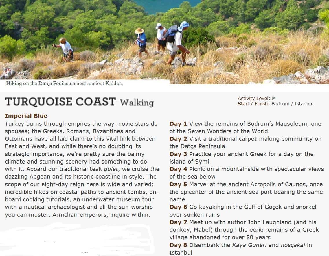 turquoise coast turkey travel guide
